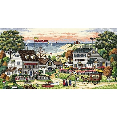 Gold Collection Cozy Cove Counted Cross Stitch Kit, 18