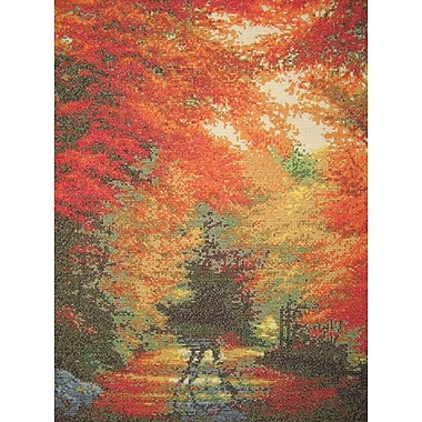 Autumn In New England Counted Cross Stitch Kit, 16