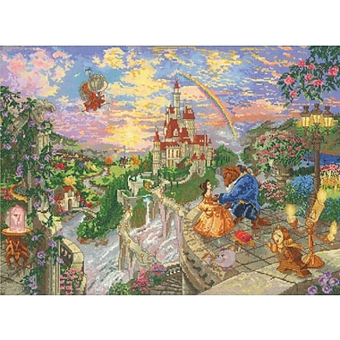 Disney Dreams Collection Thomas Kinkade Beauty & Beast Falling In Love