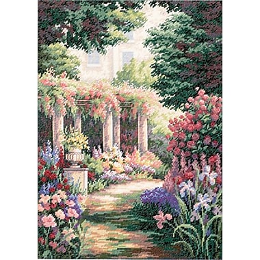 Gold Collection Floral Retreat Counted Cross Stitch Kit, 11
