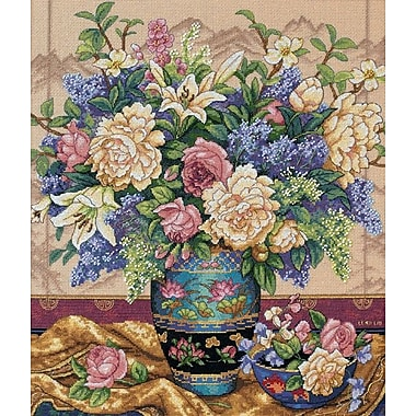Gold Collection Oriental Splendor Counted Cross Stitch Kit, 12