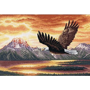 Gold Collection Silent Flight Counted Cross Stitch Kit, 16
