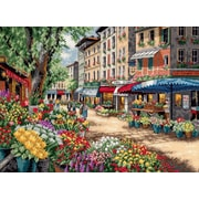 """Gold Collection Paris Market Counted Cross Stitch Kit, 15""""X11"""" 18 Count"""
