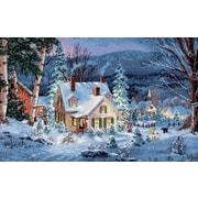 "Gold Collection Winter's Hush Counted Cross Stitch Kit, 20""X14"" 16 Count"