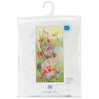 Harmony Of Nature Counted Cross Stitch Kit, 11-3/4