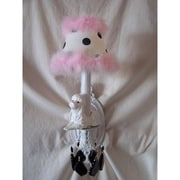 Silly Bear Fefe French Poodle 1-Light Armed Sconce; Oui Oui Paris