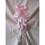 Silly Bear Piggy Princess 1-Light Armed Sconce; Ballet Slipper