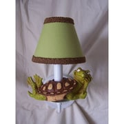 Silly Bear Tommy The Turtle 1-Light Armed Sconce; Go Green
