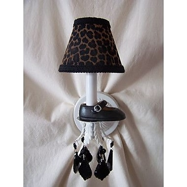 Silly Bear Lil Mama Mary Janes 1-Light Armed Sconce; Diva Ballerina