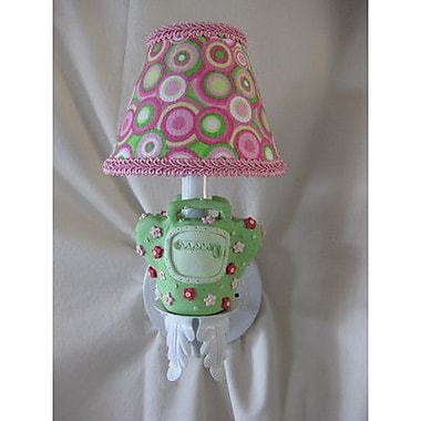 Silly Bear Happy Handbag 1-Light Armed Sconce; Flamingo Paradise