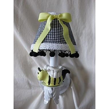 Silly Bear Bee My Baby 1-Light Armed Sconce; Sunshine Stripe