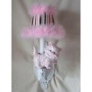 Silly Bear Prissy Kitty 1-Light Armed Sconce; Primrose Pink