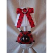 Silly Bear Little Ladybug 1-Light Armed Sconce; Picnic Play