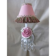 Silly Bear Pretty Flower Garden 1-Light Armed Sconce; Stop and Smell the Roses