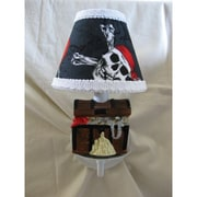 Silly Bear Pirate's Treasure 1-Light Armed Sconce; Pirate Treasure