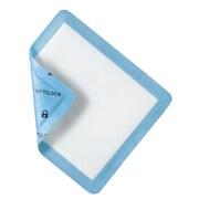 "Medline® Curad® OptiLock Superabsorbent Non-Adhesive Dressing, 5"" x 5 1/2"", 100/Pack"