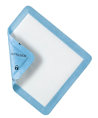 Medline® Curad® OptiLock Superabsorbent Non-Adhesive Dressing, 5