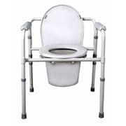 Medline® Folding Steel Commode
