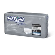 "FitRight™ Active Male Guards, Blue Acquisition Layer, 6"" x 11"", 208/Pack"