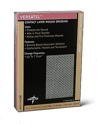 "Medline Versatel Contact Layer Dressings, 3"" X 4"" (Case of 50)"