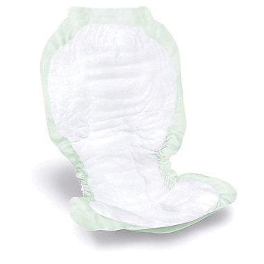 Medline® Ultra-Soft Plus Incontinence Liners, Green, 14