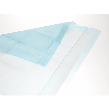 Medline® Extrasorbs® Breathable Disposable Dry Underpads, Blue, 23