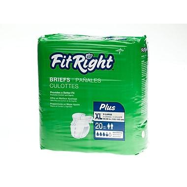 Medline® FitRight® Plus Clothlike Briefs, XL (59