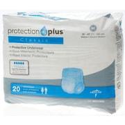 "Medline® Protection Plus® Classic Protective Underwear, Medium (28"" - 40""), 20/Bag"