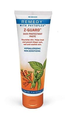 Medline® Remedy® Phytoplex™ Z-Guard™ Skin Protectant Paste, 4 oz., 12/Pack