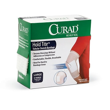 Medline® Curad® Hold Tite™ Tubular Stretch Bandage, Large, 24/Box