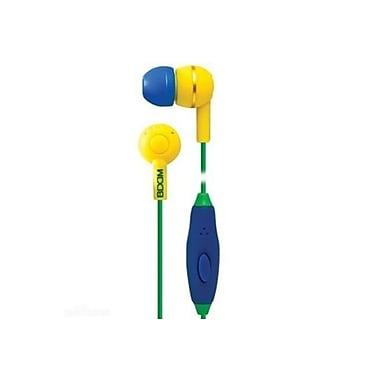 BOOM – Écouteurs intra-auriculaires Spoken Leader avec microphone, jaune