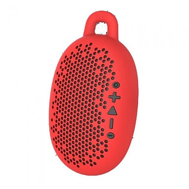 BOOM Urchin Portable Wireless Speaker, Red