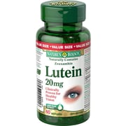 Nature's Bounty – Lutéine, 20 mg, 30 gélules
