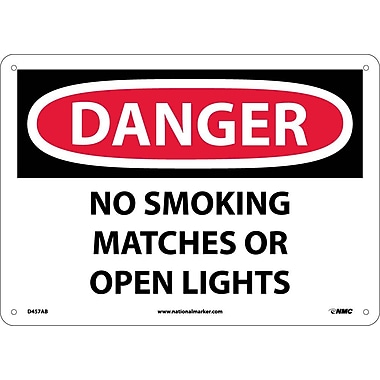 Danger, No Smoking Matches Or Open Lights, 10