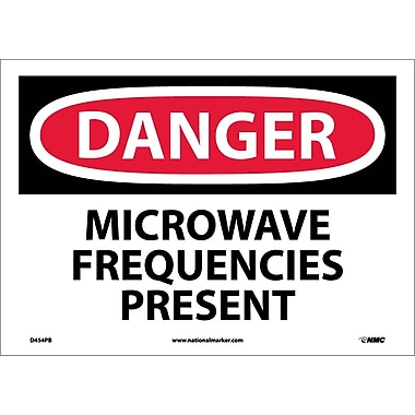 Danger, Microwave Frequencies Present, 10