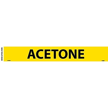 Pipemarker, Adhesive Vinyl, 25/Pack, Acetone, 2