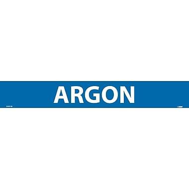 Pipemarker, Adhesive Vinyl, 25/Pack, Argon, 2