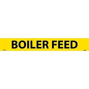 Pipemarker, Adhesive Vinyl, 25/Pack, Boiler Feed, 2