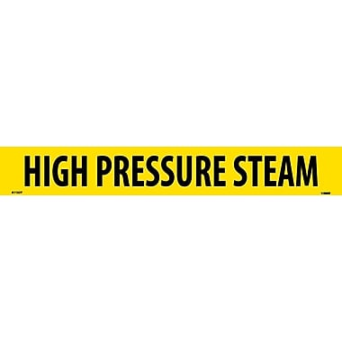 Pipemarker, Adhesive Vinyl, 25/Pack, High Pressure Steam, 2