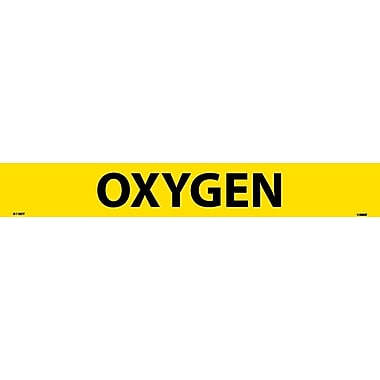 Pipemarker Oxygen, Adhesive Vinyl, 25/Pack, 2