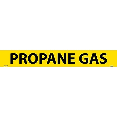 Pipemarker, Adhesive Vinyl, 25/Pack, Propane Gas, 2