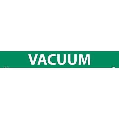 Pipemarker, Adhesive Vinyl Vacuum, 2X14 1 1/4