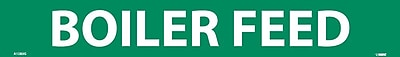 Pipemarker, Boiler Feed, 2X14, 1 1/4 Letter, Adhesive Vinyl