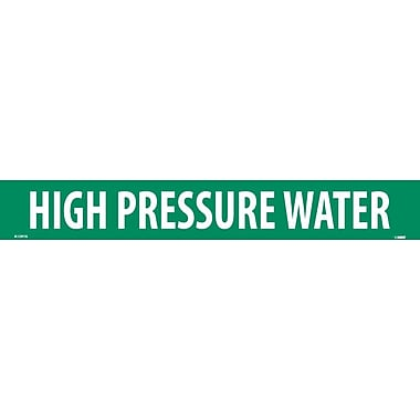 Pipemarker, High Pressure Water, 2