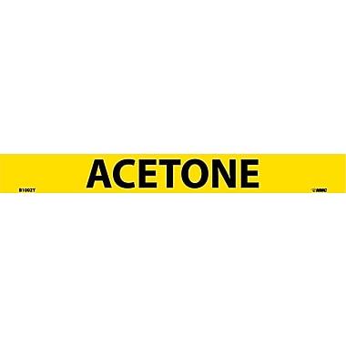 Pipemarker, Adhesive Vinyl, 25/Pack, Acetone, 1