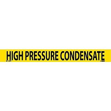 Pipemarker, Adhesive Vinyl, 25/Pack, High Pressure Condensate, 1