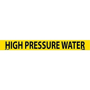 Pipemarker, Adhesive Vinyl, 25/Pack, High Pressure Water, 1