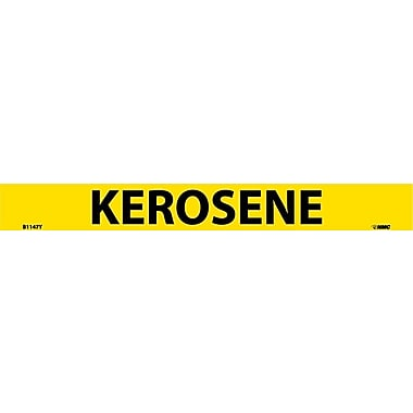 Pipemarker, Adhesive Vinyl, 25/Pack, Kerosene, 1