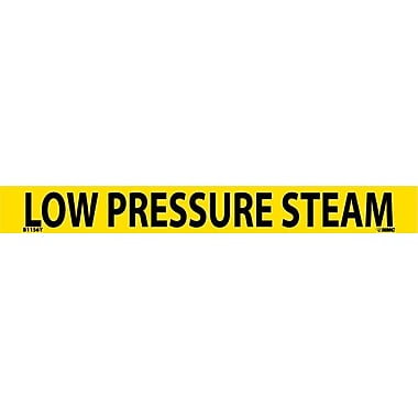Pipemarker, Adhesive Vinyl, 25/Pack, Low Pressure Steam, 1
