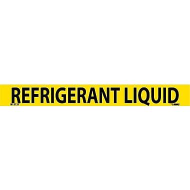 Pipemarker, Adhesive Vinyl, 25/Pack, Refrigerant Liquid, 1